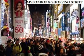 Myeondong Shopping Street